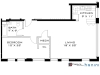 The Bowers, Sample 1 Bedroom Apartment Floorplan