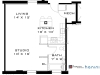 The Bowers, Studio Apartment Floorplan
