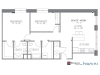 The Columbian, Sample 2 Bedroom Apartment Floorplan