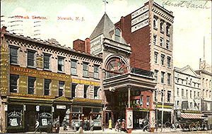 Newark Theatre - Historic Market Street, Newark New Jersey