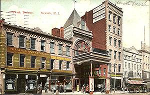 Newark Theatre - Historic Market Street, Newark New Jersey